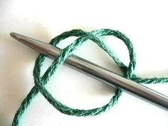 You may think this is funny ... but its knot.  New knitters - avoid that fugly, sloppy knot at the beginning of a cast on row.