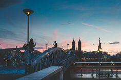 Freiburg - Blaue Brücke <3 Sydney Harbour Bridge, Travel, Freiburg, Viajes, Destinations, Traveling, Trips