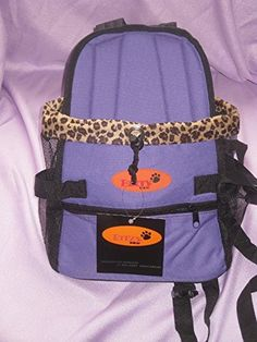 Dog Carrier Front Pack for Dogs Comfortable Front Carrier Small Purple -- Click on the image for additional details. This is an Amazon Affiliate links.