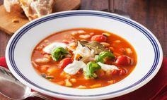 Mustig Toscana-soppa Aioli, Thai Red Curry, Squash, Vegetarian, Toscana, Ethnic Recipes, Tips, Pumpkins, Gourd