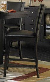 Side Chair in Dark Brown Bi-cast Vinyl of Daisy Collection by Homelegance Daisy Collection Daisy Collection Combines Superb Visual Appearance And Fine Quality That You Need In Your Dining Area. Five table options are available in regular height and counter height with matching side chair in two bi-cast vinyl covers - white and dark brown. Constructed of hardwood solids and cherry veneers in a high... #Homelegance #Home