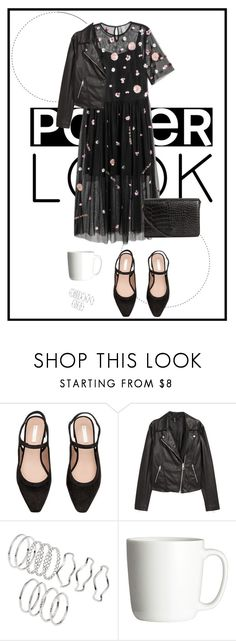"""""""H&M LOOK"""" by agustinaolivero ❤ liked on Polyvore featuring H&M"""