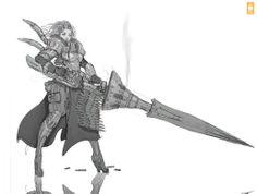 Lancer Girl PK Zeronis by Zeronis on deviantART