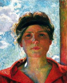 Lento Progressivo: bofransson:   Van Rysselberghe, Jeune femme à...