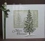 calm christmas stampin up cards - Bing Images