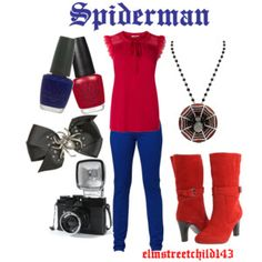 Shop from luxury labels, emerging designers and streetwear brands for both men and women. Spiderman Outfit, Hero Spiderman, Superhero, Disney Bound Outfits, Movie Outfits, Marvel Fashion, Marvel Clothes, Character Inspired Outfits, Girls Time