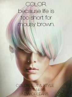 New age colour...