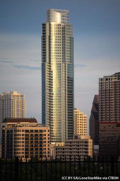 The Austonian -Downtown Austin, Texas, Estados Unidos.