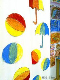 Hääräämö: Välivärien sekoitus öljypastelliliiduilla + pdf Curtains, Shower, Prints, Painting, Rain Shower Heads, Blinds, Painting Art, Showers, Paintings