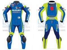 Maverick Vinale Suzuki MotoGP 2015 Leathers  https://www.leathercollection.com/en-we/maverick-2015-suzuki-leathers.html  #Maverick_Vinale_Suzuki_MotoGP_2015_Leathers, #Motorcycle_Clothing, #Suzuki_Leathers