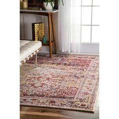 Shop for nuLOOM Vintage Ornate Persian Medallion Light Pink Rug (5'3 x 7'9) and more for everyday discount prices at Overstock.com - Your Online Home Decor Store!