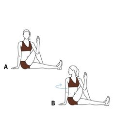 1000 images about stretching before  after running on