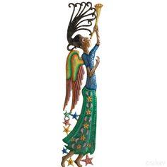 Decorative - Trumpeting Angel Wall Art