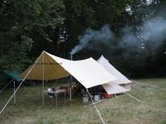 Image result for bell tent awning