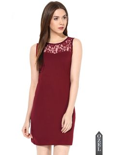 Lace Is More Bodycon By Miss Chase