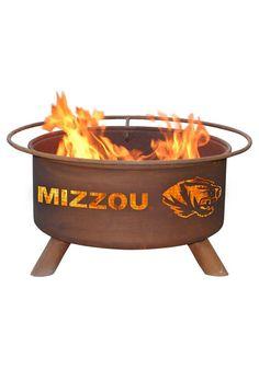 Missouri (Mizzou) Tigers Outdoor Fire Pit http://www.rallyhouse.com/Missouri-Tigers-Outdoor-Fire-Pit?utm_source=pinterest&utm_medium=social&utm_campaign=Pinterest-MizzouTigers $249.99