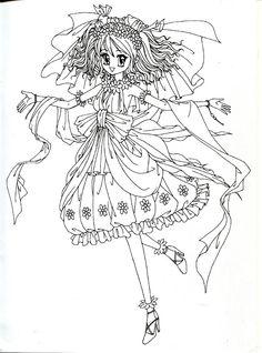 Coloring book red (princess, wedding) - Mama Mia - Álbuns da web do Picasa