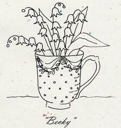 "Tea Party ""Becky"" Pattern"
