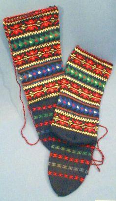 Macedonian Socks, Horniman Museum