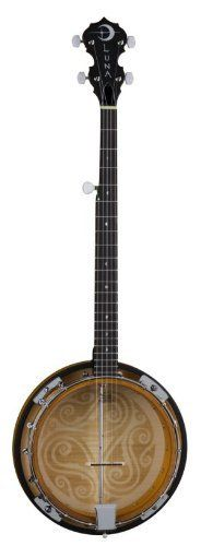 Luna Guitars Celtic 5-String Banjo by Luna Guitars. these are so awesome!