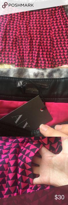 Armani exchange mini skirt Brand new with tags Armani Exchange Skirts Mini
