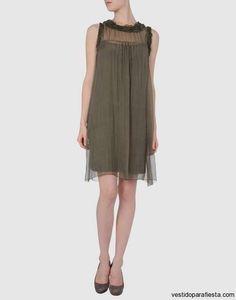 Sencillos vestidos cortos de seda para fiesta 2015 - https://vestidoparafiesta.com/sencillos-vestidos-cortos-de-seda-para-fiesta-2015/