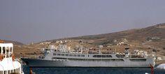 F/B Elli - Piraeus Ferry Boat, Paros, Over The Years, Paris Skyline, Boats, Ship, Water, Travel, Outdoor