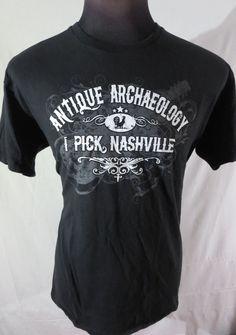 #American #Pickers Shirt #Nashville 2XL Black XXL #AmericanPickers #GraphicTee