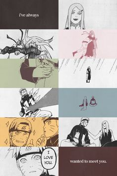 Kushina and Naruto. This scene. I laughed and cried and got happy and depressed all at the same time.
