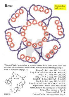 Gallery.ru / Фото #14 - Tatting. Basic Patterns by Rosemarie Peel - mula