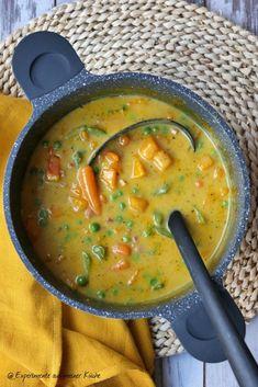 Kürbis-Zuckerschoten-Curry - Experimente aus meiner Küche
