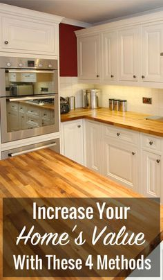 When selling your home, you need to take active steps towards making it as beautiful as possible. In this way, buyers will really see the value in your property, and they will recognize that your home shouldn't be passed up. Home Diy, Home, Home Upgrades, Kitchen Design, Home Improvement Projects, Home Values, Home Improvement, Diy Home Improvement, Sell Your House Fast