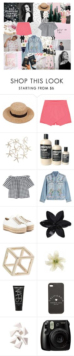 """""""✿ he doesn't love me so i tell myself, i do,i do, ido"""" by styleboy ❤ liked on Polyvore featuring Eloqueen, MANGO, Alexander McQueen, Prada, ASOS, Topshop, Luli, Clips, NARS Cosmetics and Bobbi Brown Cosmetics"""
