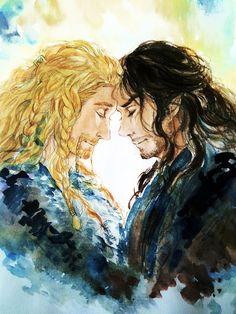 Fili and Kili #hobbit #fanart