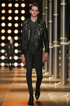 Saint Laurent Menswear Spring Summer 2014 Paris