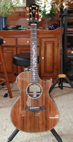Custom Taylor GC w/ Sinker Redwood Top