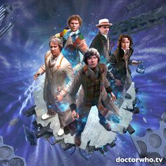Big Finish Productions' multi-Doctor 50th anniversary audio adventure – The Light at the End