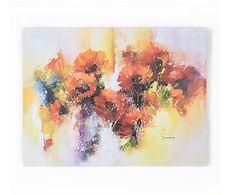 Graham&Brown / Westwing - Luxe print op canvas Flora, multicolour, 60 x 80 cm