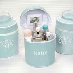 Bridesmaid Gift...Personalized Toiletry Bag ($25)
