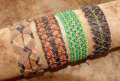 pulseras de macrame
