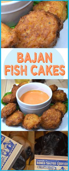 Bajan Cod Fish Cake Recipe