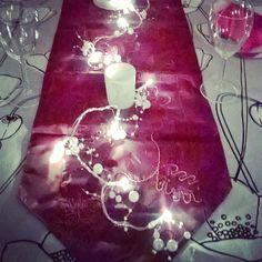 #jouluruat #jouluaatto 24.12.2015 Slade soi.... #valosarja #valohelmet #joulukattaus #yuledecoration