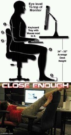 Close enough!