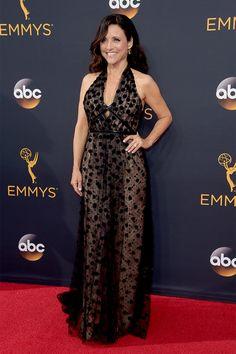 Julia Louis Dreyfus in Carolina Herrera New York - Emmy 2016