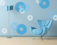 50 свежих идей по декору комнаты с помощью трафарета - Ярмарка Мастеров - ручная работа, handmade