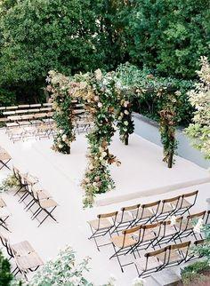 Ceremonie indeling: 3 Manieren om de stoelen te plaatsen