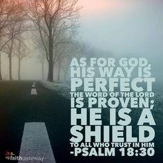 REDE MISSIONÁRIA: PSALM 18:30