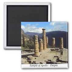 Temple of Apollo – Delphi Refrigerator Magnets