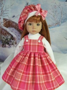 """Highland Valentine"" Made for 13"" Effner Little Darling ~ by TDDesigns"
