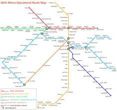 delhi metro map pdf 2017 download